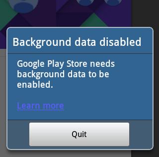 Bidvertiser.com,pengguna android dialihkan ke google play