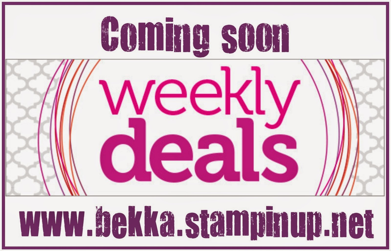 April Weekly Deals from Stampin' Up! UK available from www.bekka.stampinup.net - grab them while you can!
