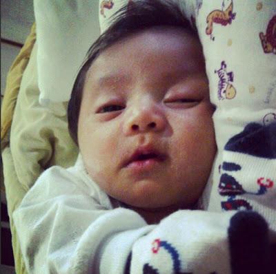 Gambar Anak Adi Putra Zara Adeli Haadi yang comel