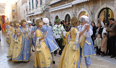 Winter Carnival in Dubrovnik