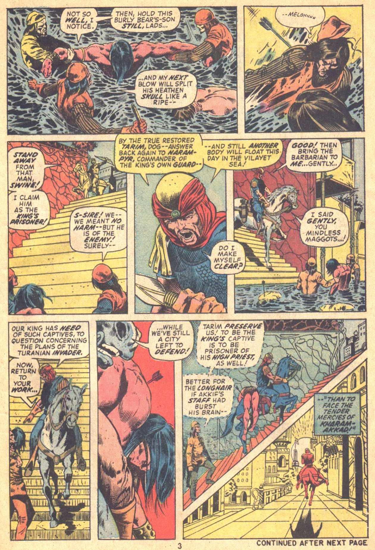 Conan the Barbarian (1970) Issue #21 #33 - English 4