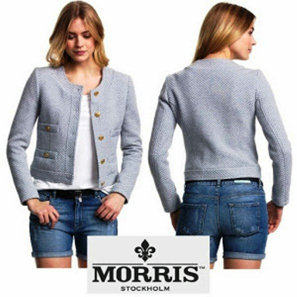Morris Jacket Wore By Crown Princess Victoria Of Sweden