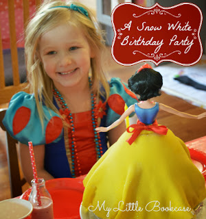 My Little Bookcase: Snow White Party