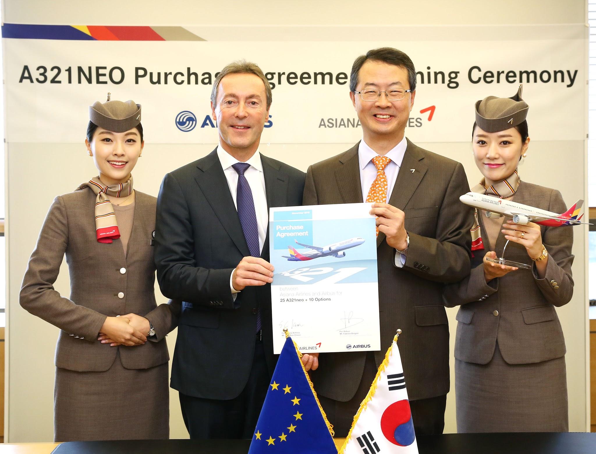 É MAIS QUE VOAR | Asiana Airlines finaliza encomenda para 25 aeronaves A321neo