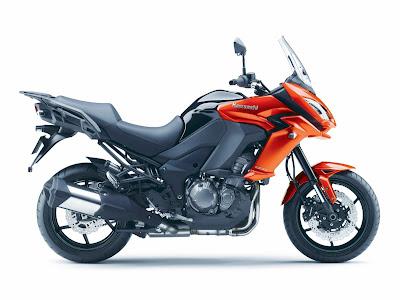 Kawasaki Versys 1000, motos