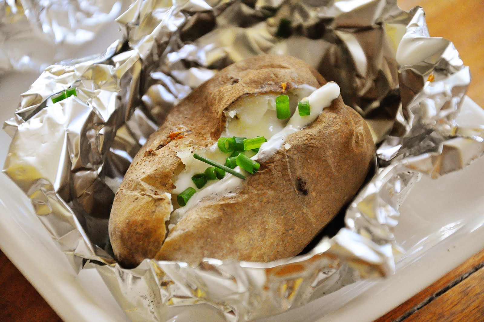 "Baked"" Potatoes On The Grill Recipes — Dishmaps"