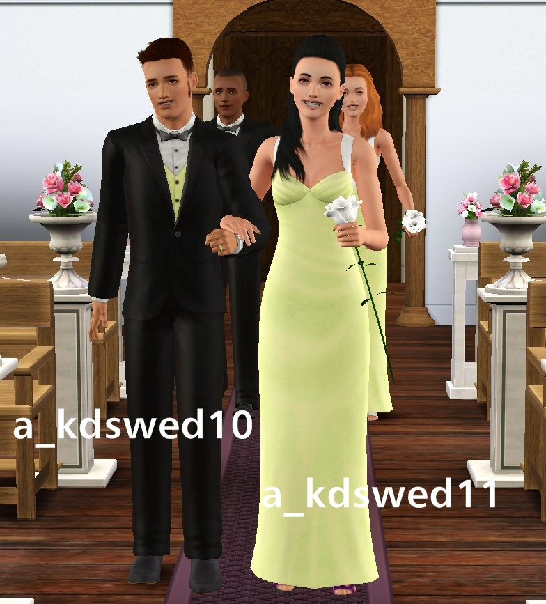 Romanza Wedding Set From The Sims 3 Store