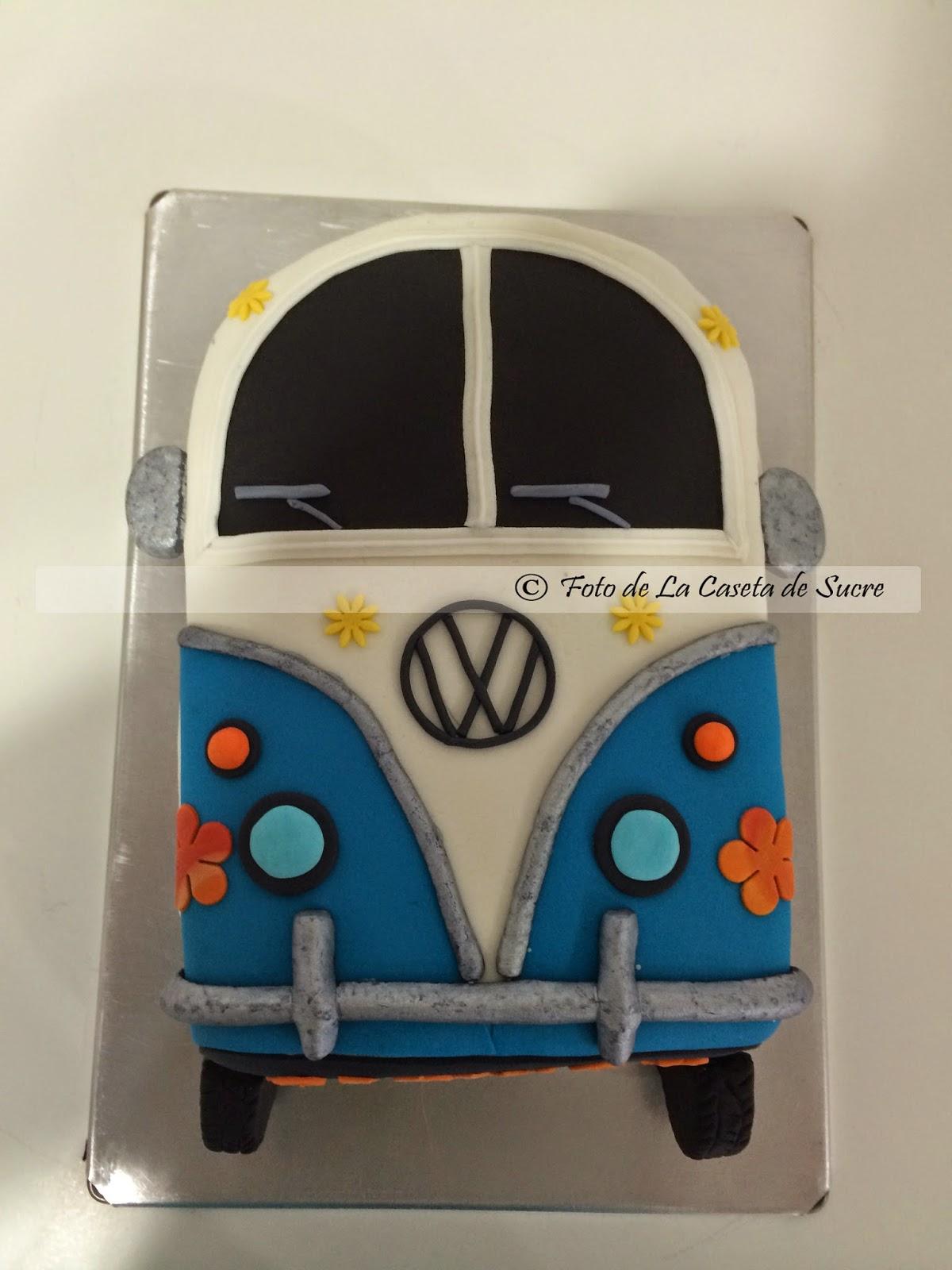 tarta furgoneta hippie 2