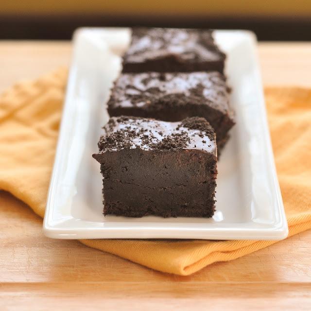Good Thymes and Good Food: Oreo Truffle Brownies