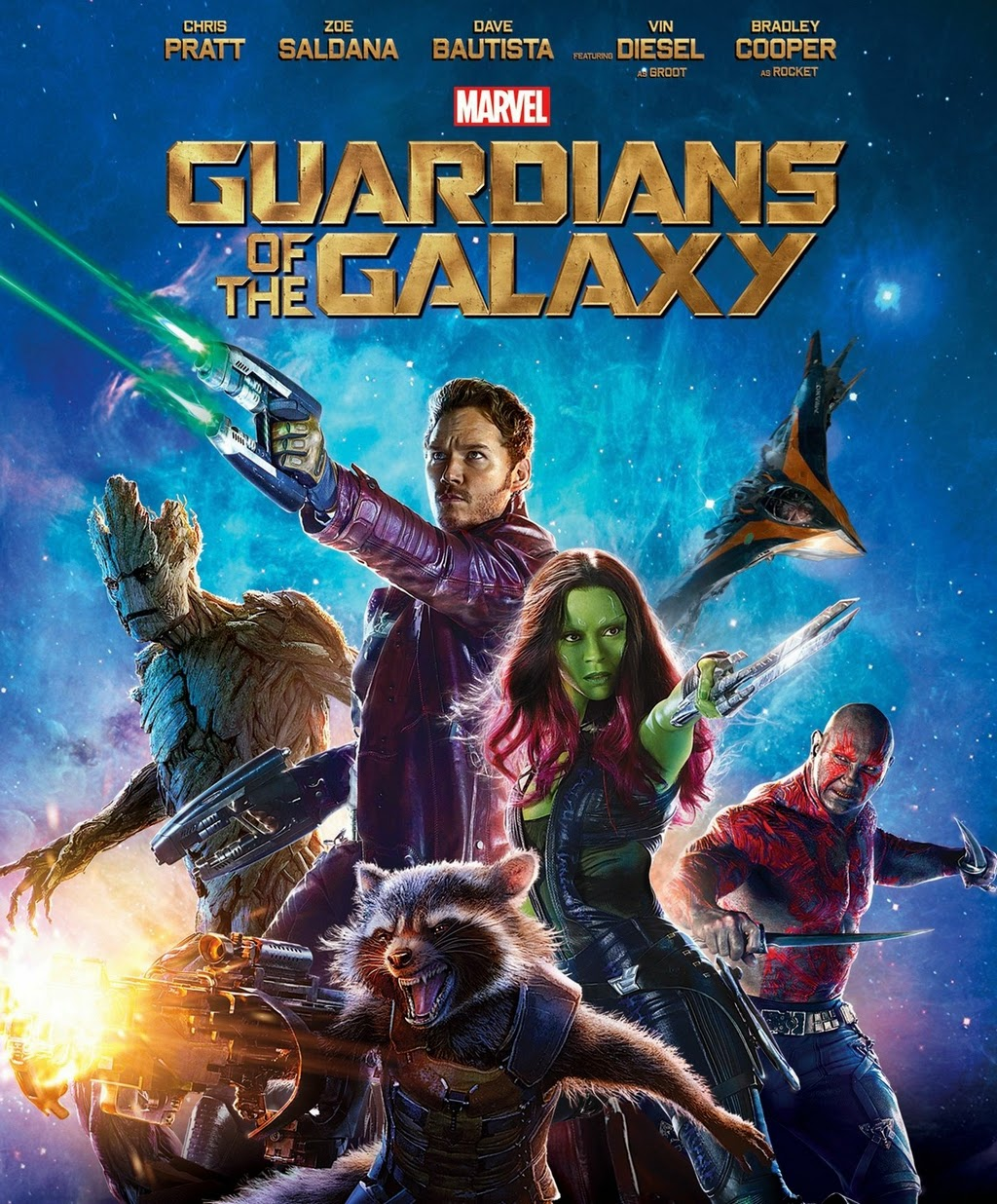 Guardians of the Galaxy รวมพันธุ์นักสู้พิทักษ์จักรวาล HD 2014 FullHD1080p