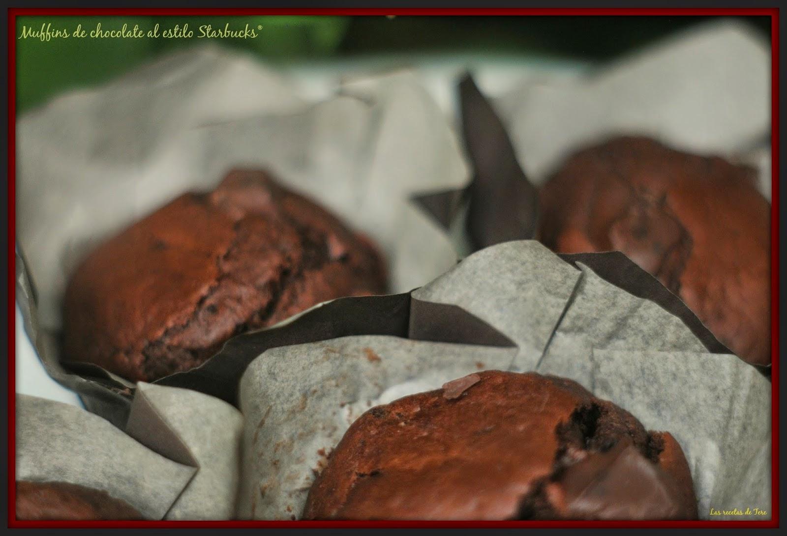 muffins de chocolate al estilo starbucks 05