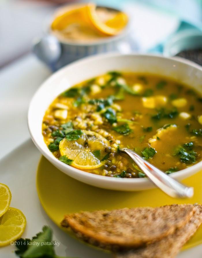 lentil lemon soup