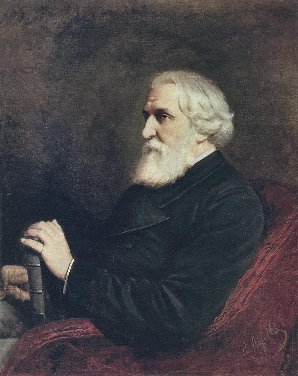 Ivan Turgenjev Portrait-of-the-author-ivan-turgenev-1872