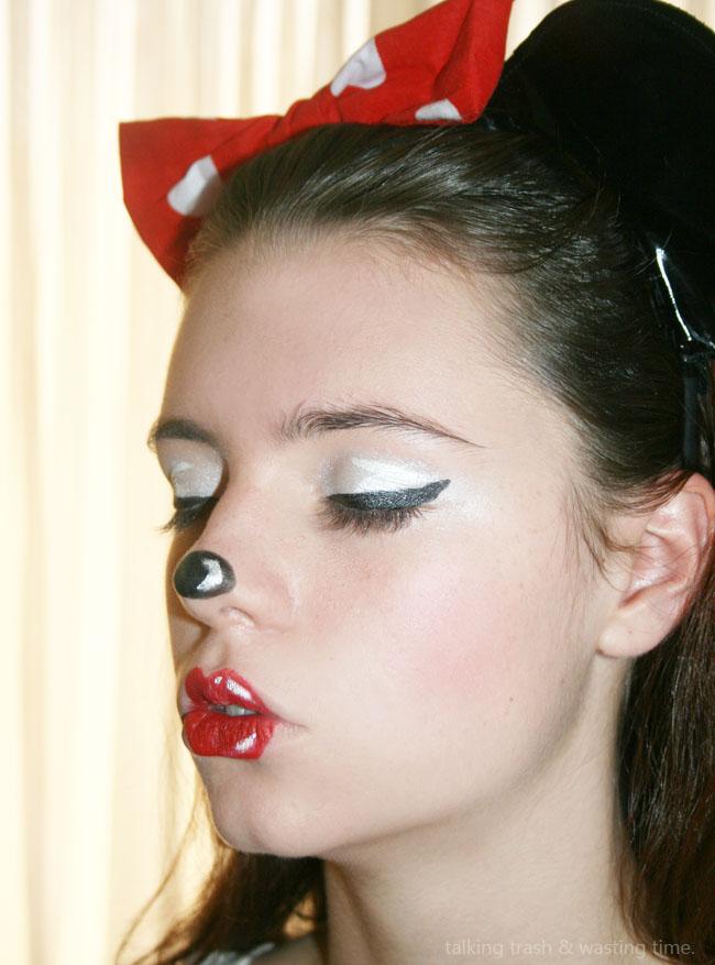 Minnie Mouse Makeup You Mugeek Vidalondon