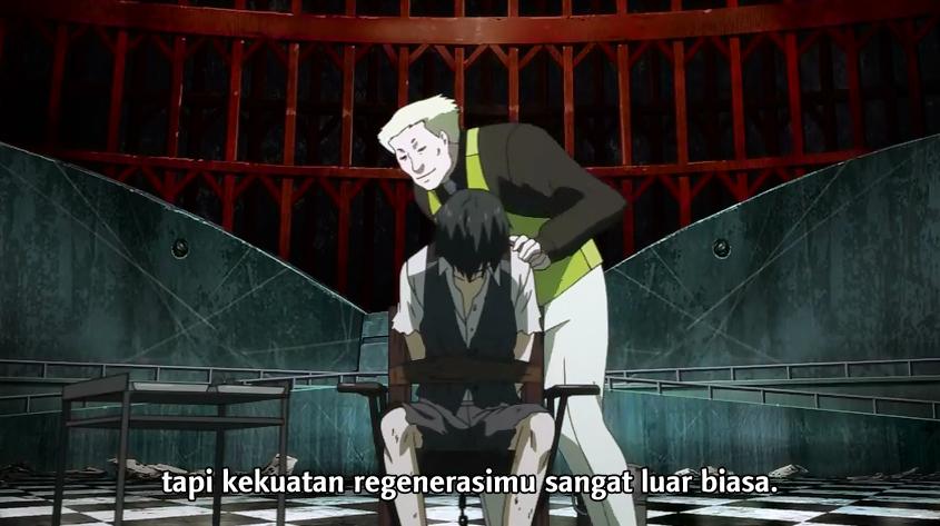kemampuan regenerasi kaneki tokyo ghoul