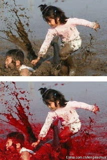 sister killing brother in blood