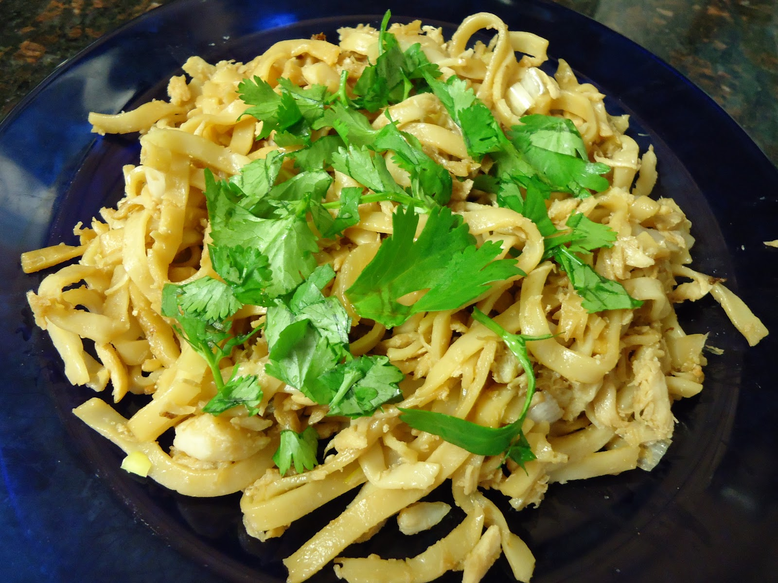 Egg Allergy Cooking: Crab Noodle