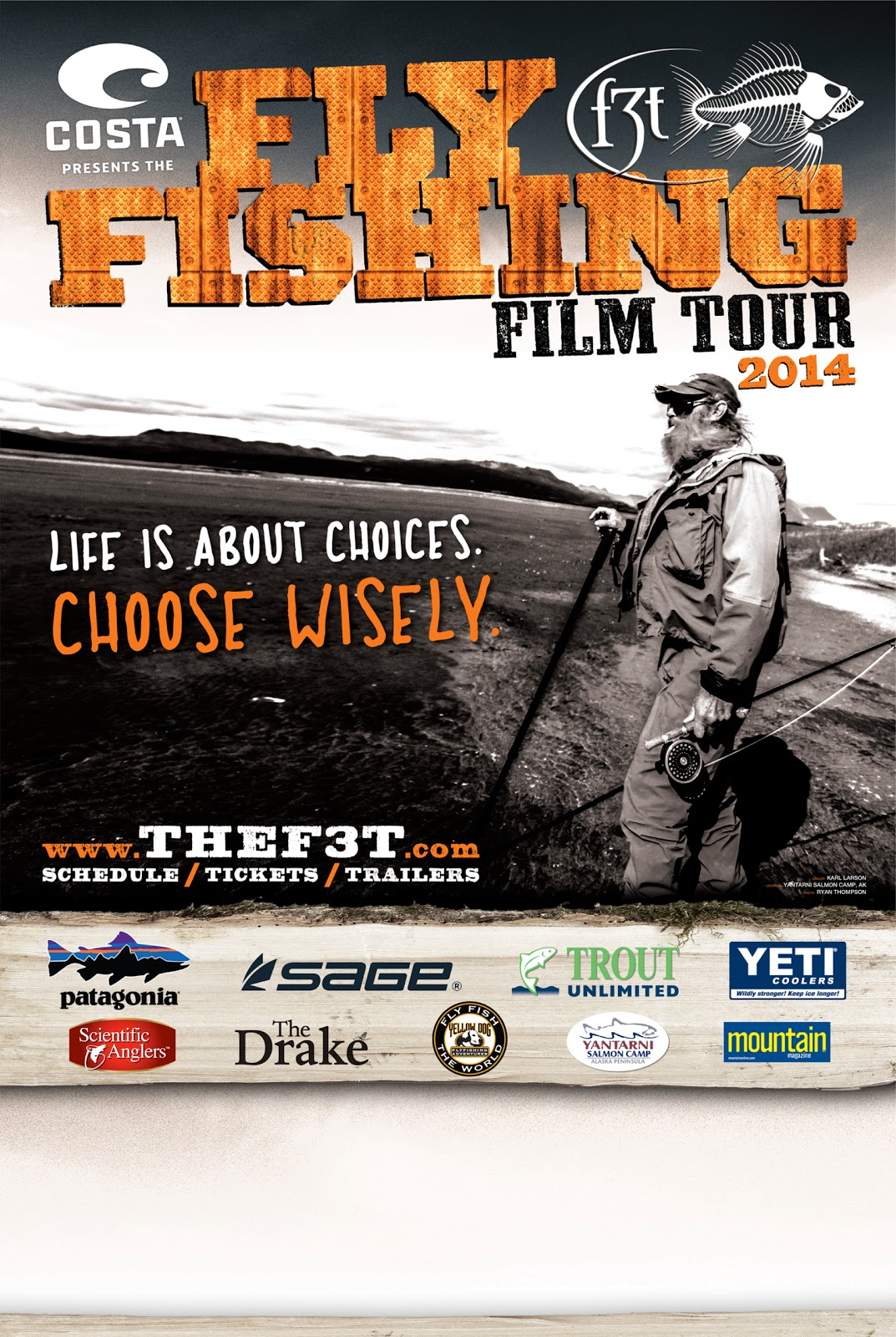 F3T 2014 - Fly Fishing Film Tour Minneapolis