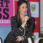 Kareena Kapoor Showcasing Her Sexy Thighs In A Black and White Polka Dotted Dress