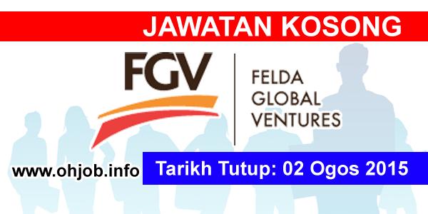 Jawatan Kerja Kosong Felda Global Ventures Holdings logo www.ohjob.info ogos 2015