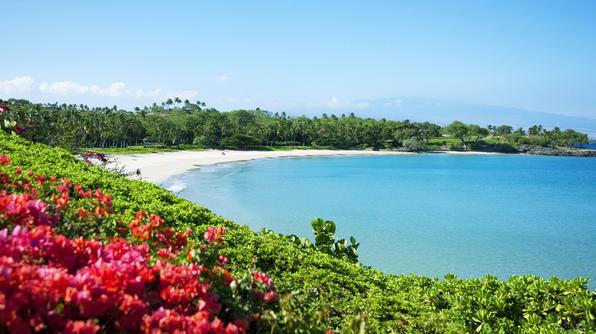 Hawaii's Kauna'oa Bay