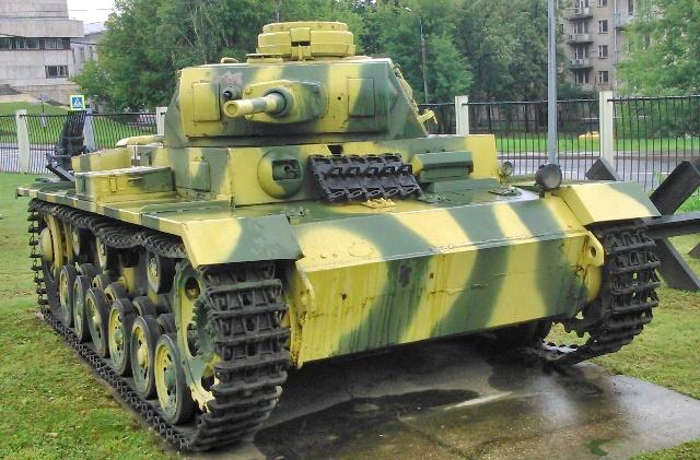 Panzer III o PzKpfw III Ausf. J