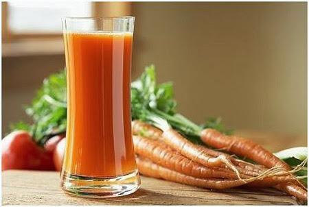 Mặt Nạ Dưỡng Ẩm cho da khô từ: Cà rốt
