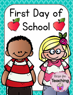 https://www.teacherspayteachers.com/Product/First-Day-of-School-1366975