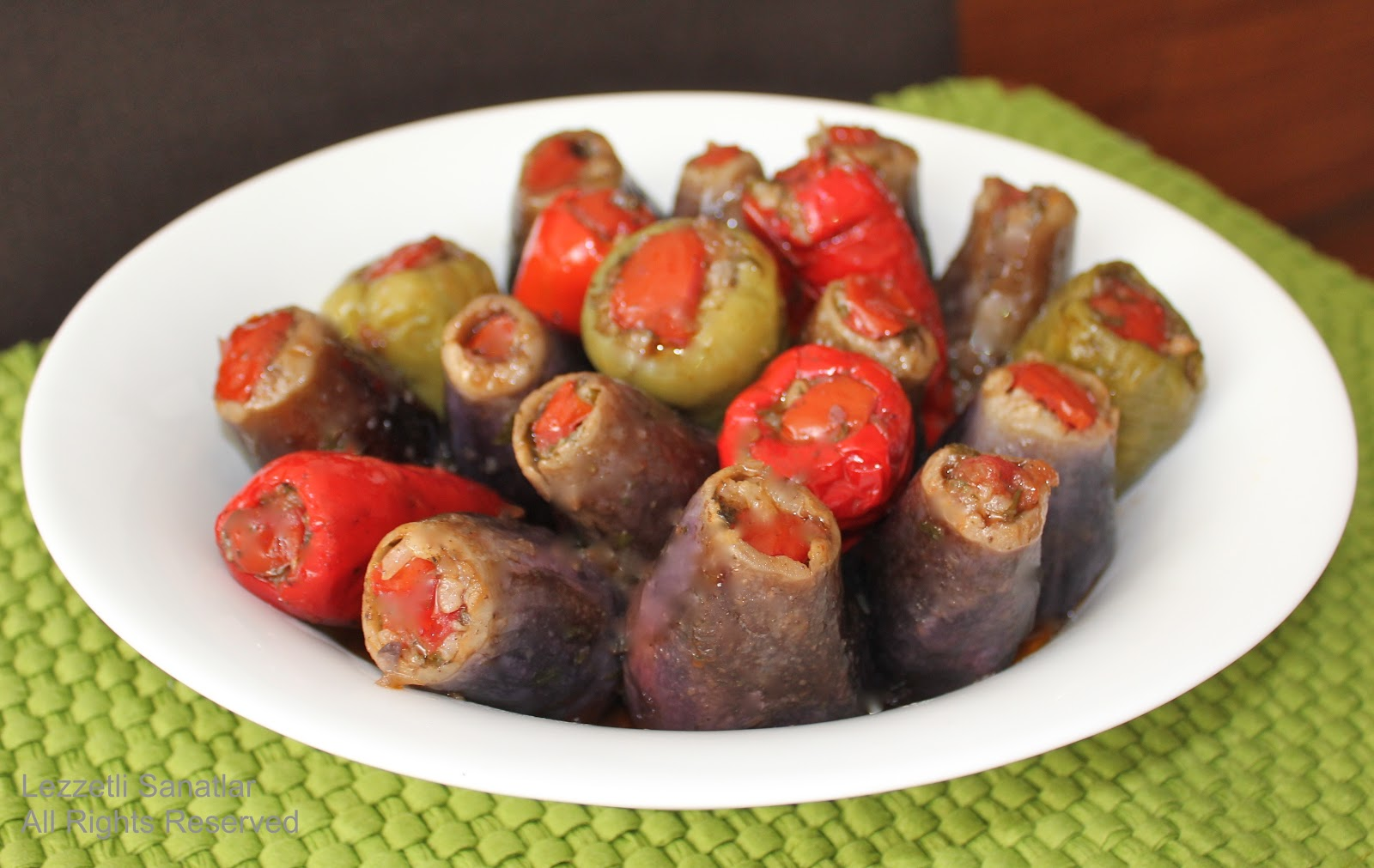 Zeytin Yağlı Mercimekli Patlıcan