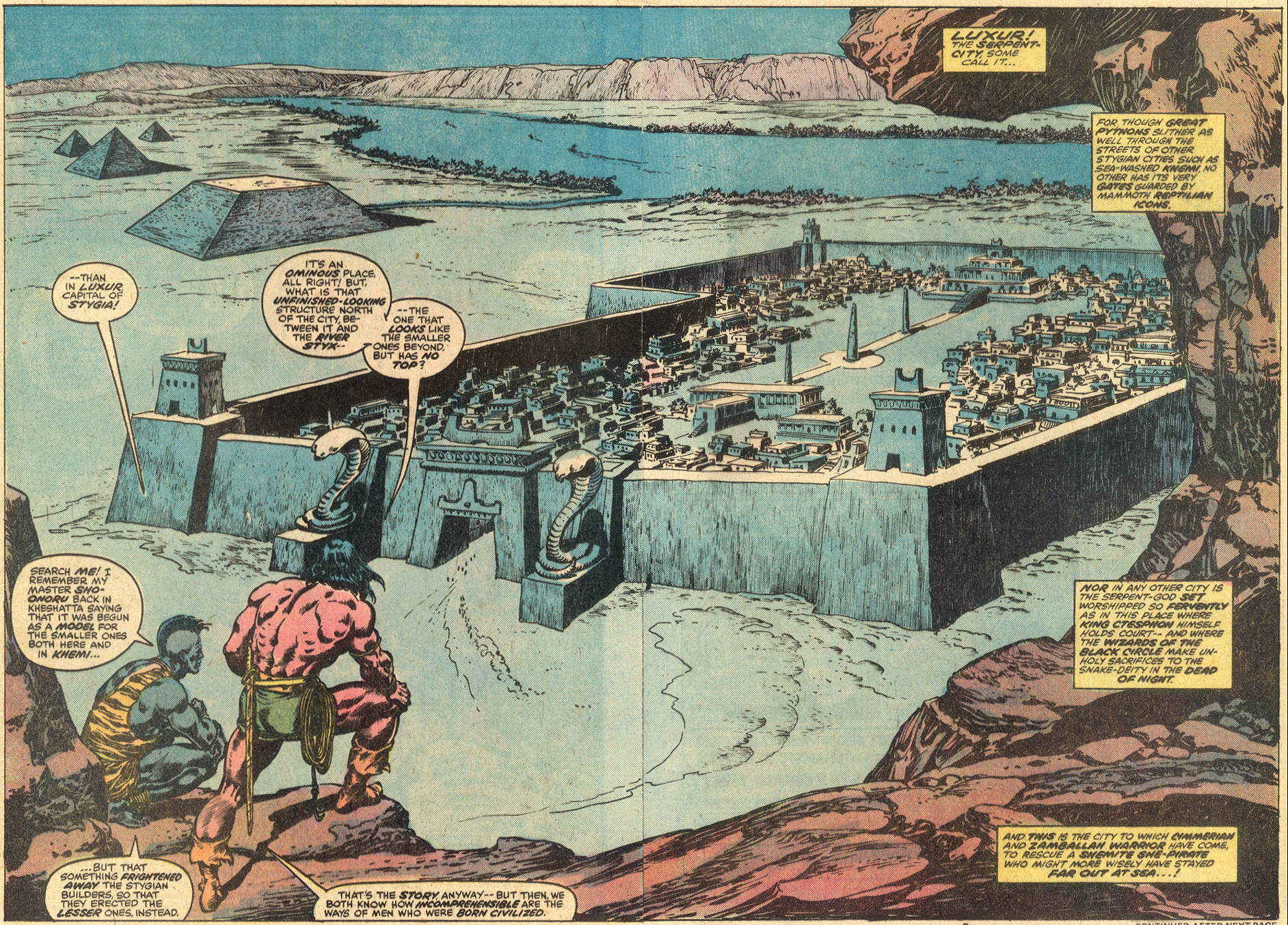 Conan the Barbarian (1970) Issue #86 #98 - English 3
