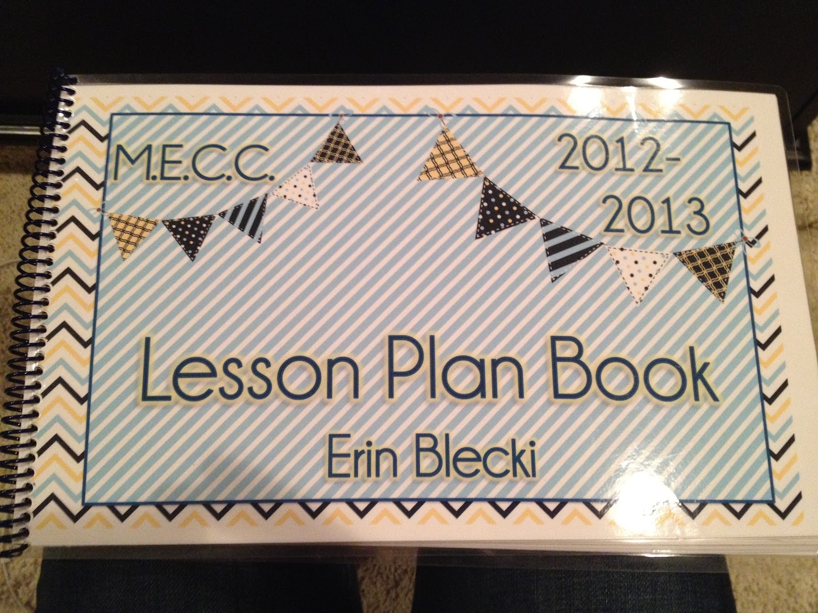 Create Your Own Lesson Plan Book | creating & teaching