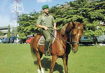 Pasukan Berkuda Siap Amankan Natal dan Tahun Baru 2013