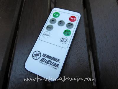 Terminix ALLCLEAR Lantern remote