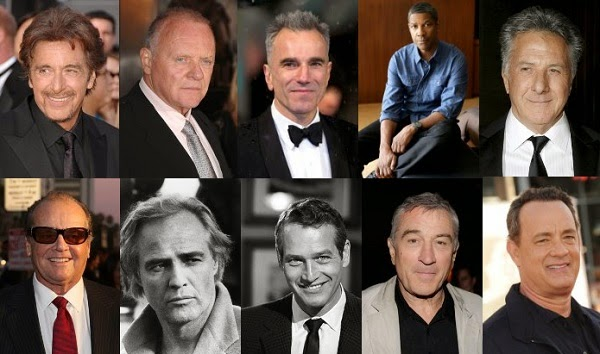 Top 10 Hollywood actors to follow