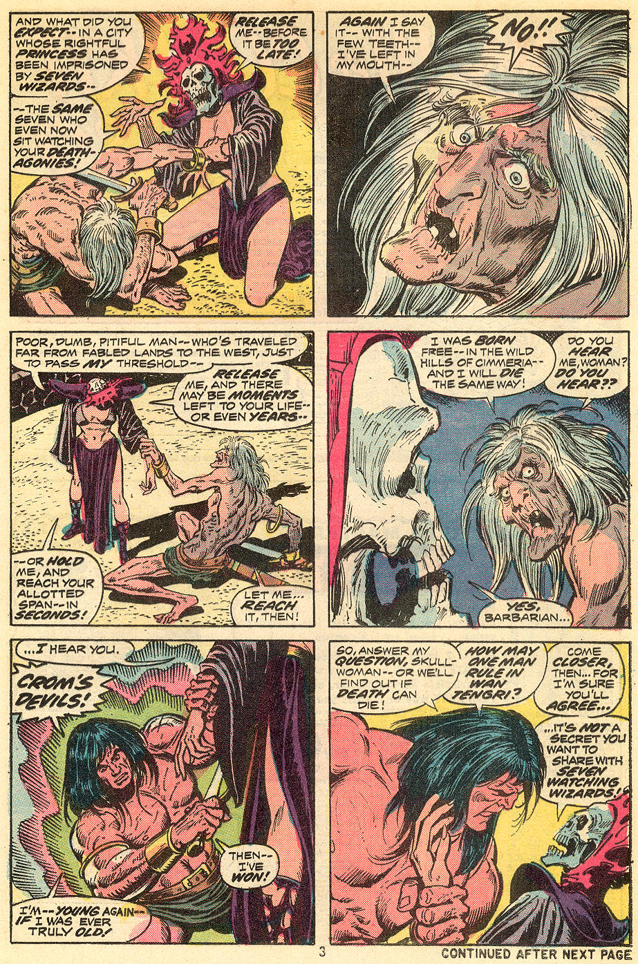 Conan the Barbarian (1970) Issue #34 #46 - English 4
