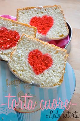 torta San Valentino, torta cuore