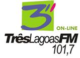 Rádio Três Lagoas FM de Três Lagoas MS ao vivo