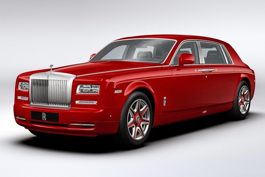 Rolls-Royce Phantom Extended Wheelbase Louis XIII (2014) Front Side