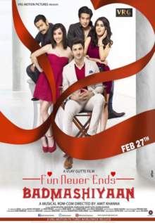 Watch Badmashiyaan (2015) DVDRip Hindi Full Movie Watch Online Free Download