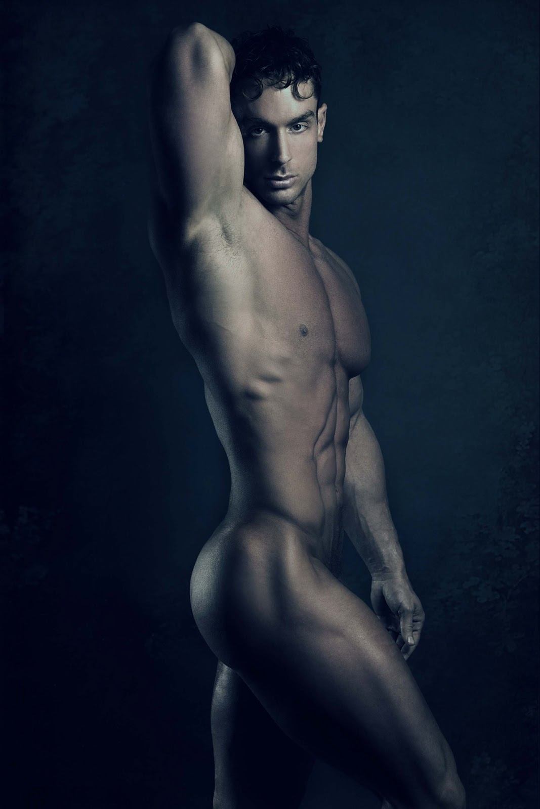 in which we drink in the sleek male beauty of fitness model trevor ...