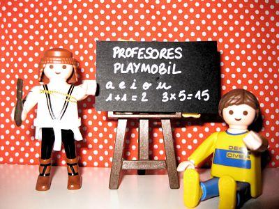 PROFESORES PLAYMOBIL