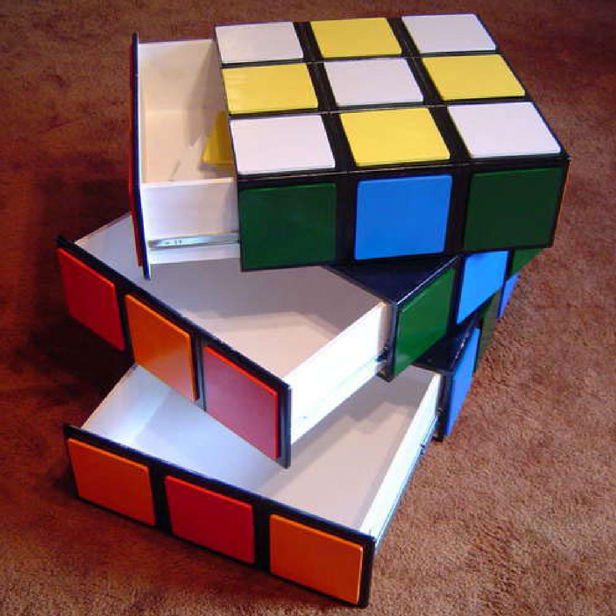 Cadeaux 2 ouf id es de cadeaux insolites et originaux 10 objets en forme de rubik s cube Rangement a faire soi meme