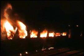Train accident, Fire, Howrah-Dehradun Express, Jharkhand, Doon Express, Indian Railways, India, Live News, Breaking News