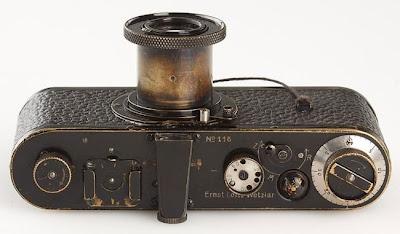 Câmera antiga Leica custa R $ 2,8 milhões