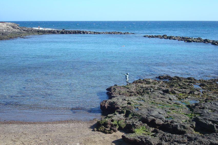 Rosa en gran canaria playa de arinaga piscina natural for Piscinas naturales gran canaria