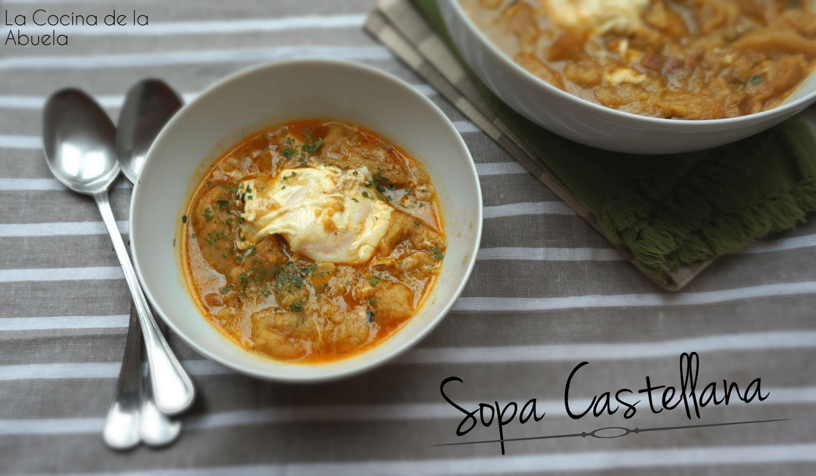Sopa castellana - Sopa castellana casera ...