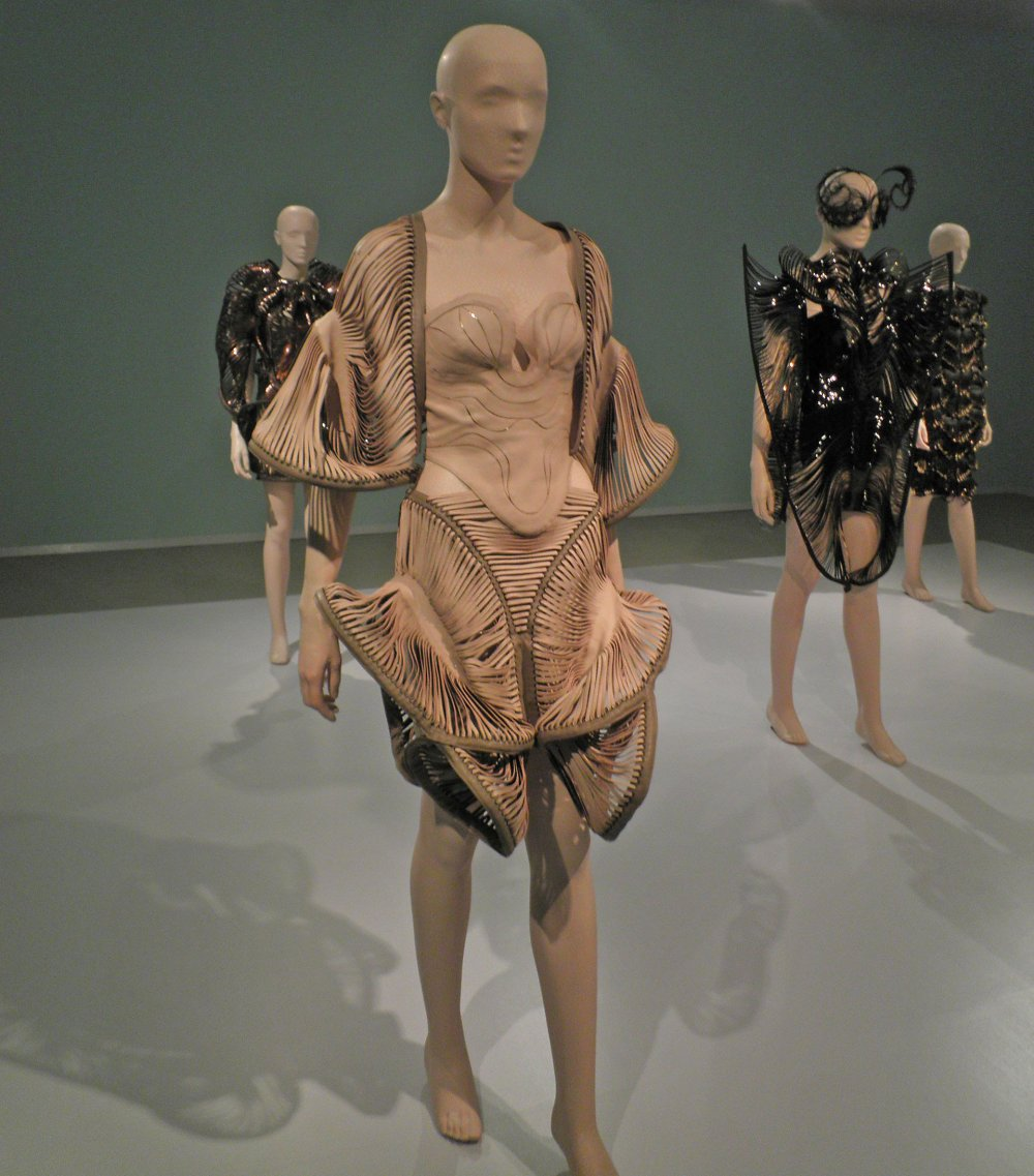 "iris van herpen exhibition utrecht A design from the show ""iris van herpen: transforming fashion,"" at the high museum in atlanta credit michel zoeter if ""#techstyle"" is focused on the tomorrow of garments as gadgets."