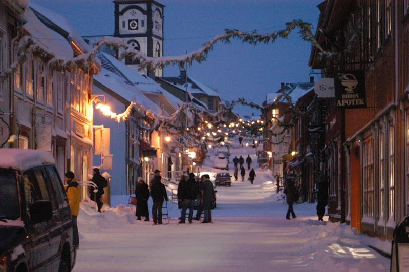 Christmas Market in Røros. Photo: Innovation Norway.