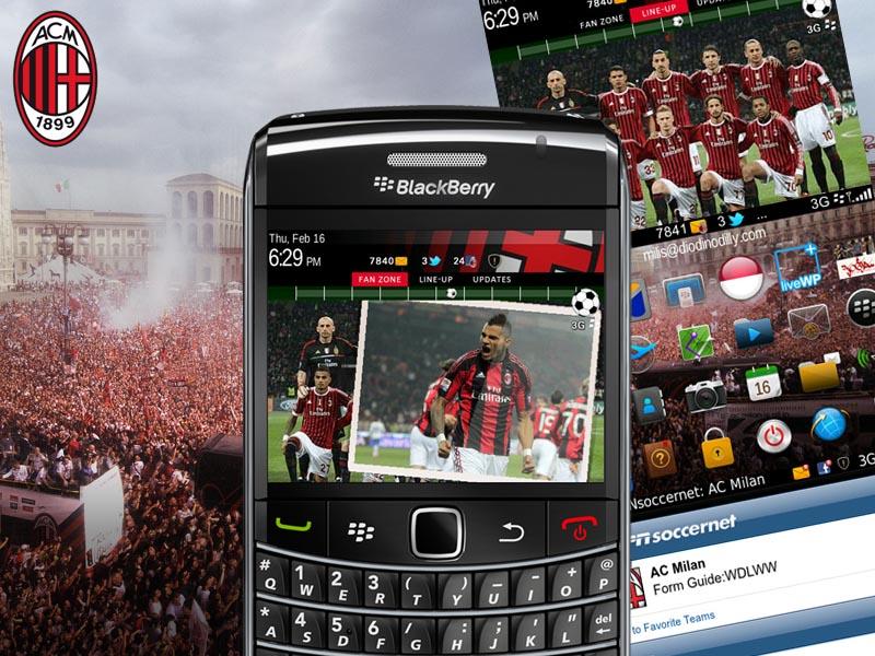 AC Milan Theme Add-ons for Thunderbird