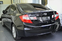 Honda All New Civic 1.8 A/T Hitam 2012